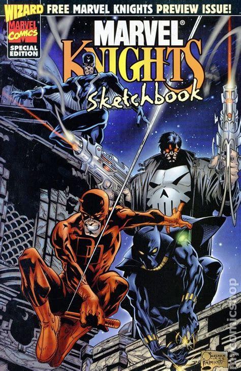 sketchbook marvel marvel knights sketchbook 1998 comic books