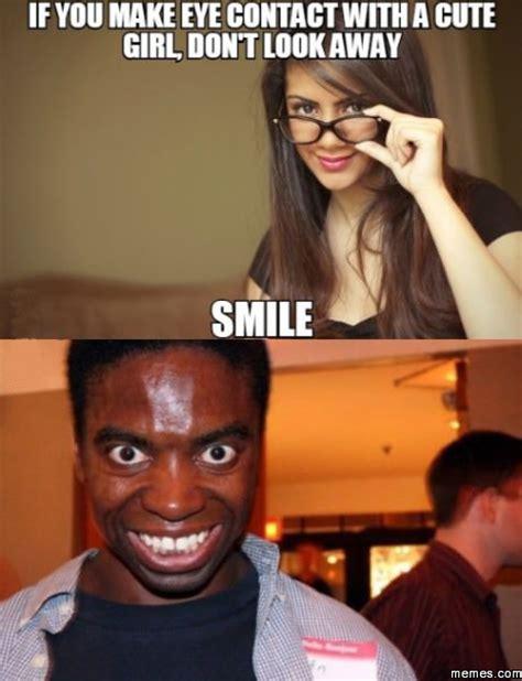 Smile Girl Meme - home memes com