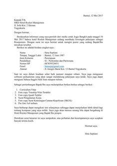 Contoh Surat Lamaran Kerja Di Oppo Sebagai Promotor - Bagi