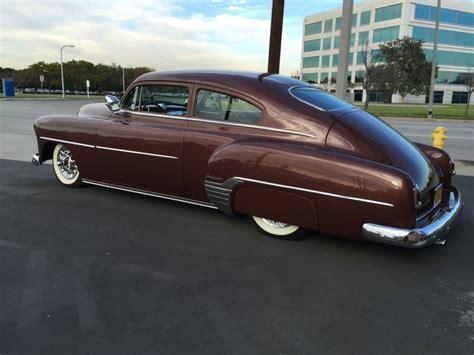 Handcrafted Cars - 1952 chevy chevrolet chop top custom kustom fleetline for sale