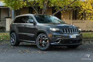 Jeep Grand Cheerokee Jeep Grand Srt 2016 Review Motoring Au