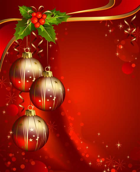 beautiful christmas background vector free vector 4vector