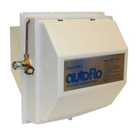 humidifier autoflo flow through whole house humidifier