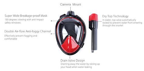 Snorkel Size L Xl Untuk Xiaomi Gopro Sjcam snorkel size l xl dengan mount gopro xiaomi yi black jakartanotebook