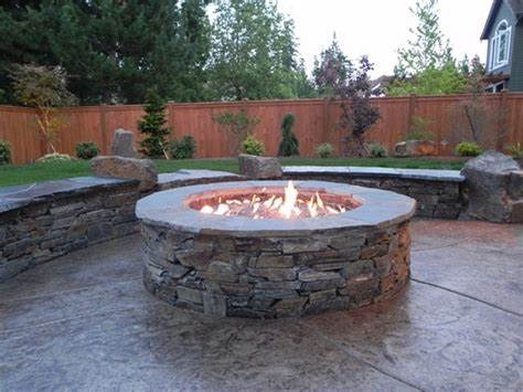 Outdoor Firepit Gas 15 Pit Ideas To Light Your Garden Club