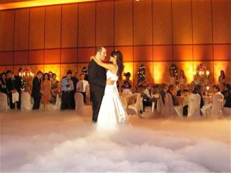 Fog machine at wedding! Was thinking of this! Glad I'm not