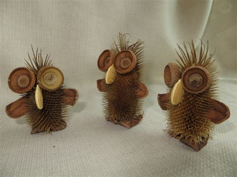 crazy critters teasel owl 3 00 via etsy crafty