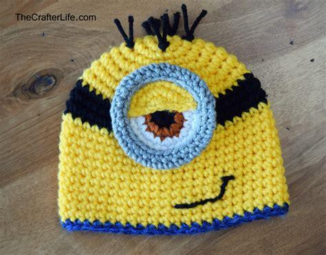 pattern crochet minion hat minion hat and bib set