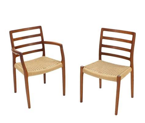 set of four danish modern teak dining room chairs for sale set of four danish mid century modern teak dining chairs