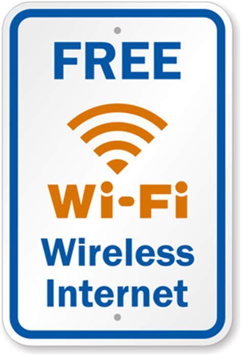 free wi fi get free internet on american delta and free wi fi wireless internet sign with wi fi symbol sku
