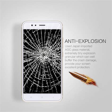 Tempered Glass Xiaomi Mi5x Mi 5x Screen Protector Antigores nillkin amazing h pro tempered glass screen protector for