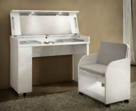 caprice collection modern vanity table with led lights