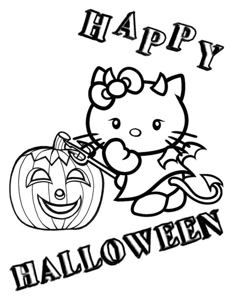 hello kitty zombie halloween coloring pages hello kitty halloween coloring page az coloring pages