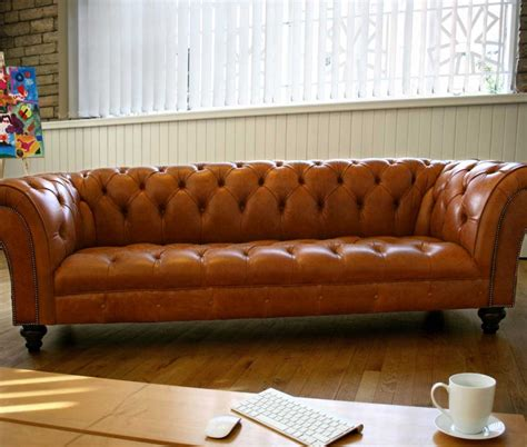leather chesterfield couch 1930 leather chesterfield sofa abode sofas