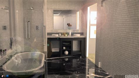 Interior Render Vray Sketchup by Sketchup Vray Interior Bathroom By Ahmetcokelek On Deviantart