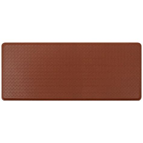 top 5 best kitchen floor mat gelpro for sale 2017 best gelpro classic basketweave chestnut 20 in x 48 in