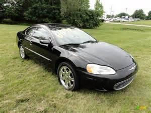 Chrysler Sebring 2001 Coupe Black 2001 Chrysler Sebring Lxi Coupe Exterior Photo