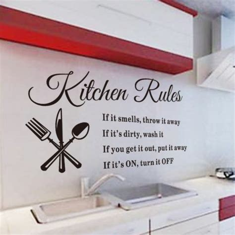 Kitchen Cabinet Quote Kitchen Wall Quotes And Sayings Quotesgram