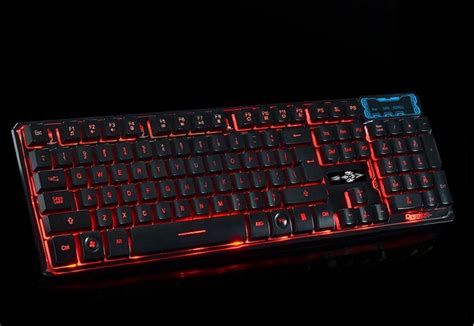 Keyboard Laptop Led led backlit wired mechanical gaming keyboard computer laptop usb keyboard for dota 2