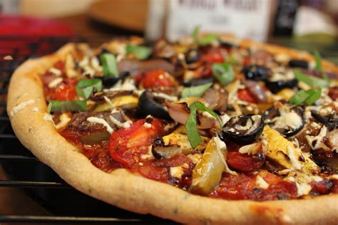 vegetables pizza kaage roasted vegetable pizza badhige piizza collection