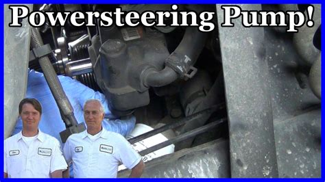 tutorial polosan xl v8 1 how to replace a power steering pump ford explorer 2002