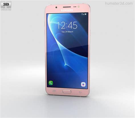 Samsung J7 Gold samsung galaxy j7 2016 gold 3d model humster3d