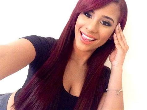 cyn pulled back hair love and hip cyn love and hip hop red hair www pixshark com images