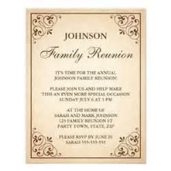 family reunion invitation templates invitation template