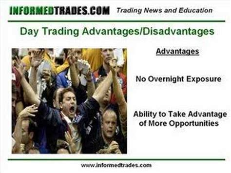 pattern day trader advantages 72 the advantages and disadvantages of day trading youtube