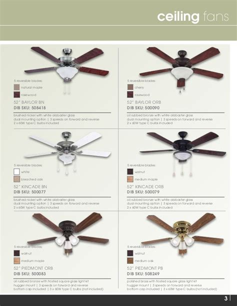 Ceiling Fan Catalogue by 2015 Ceiling Fan Catalog