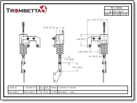 trombetta 12 volt solenoid wiring diagram trombetta