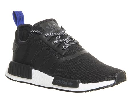 mens adidas nmd runner black white trainers shoes ebay
