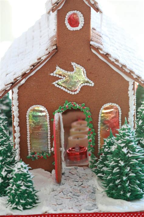 house church gingerbread church sweetopia