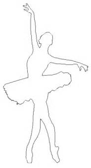 ballerina outline cliparts co
