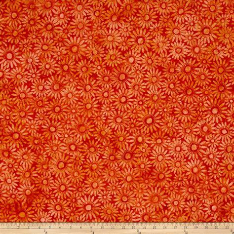 sale mukenah bali motif new gradasi orange g 1055 bali batiks handpaints daisies orange discount designer