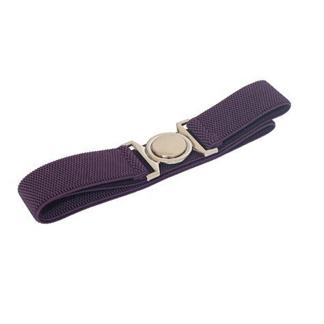 Buckle Elastic Belt plus size buckle elastic belt purple evogues apparel