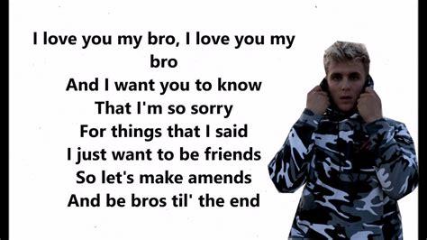 you bid i you big bro jake paul ft logan paul lyrics