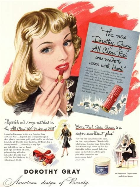 beauty products for women in their 40s 521 best 1940s advertising images on pinterest vintage