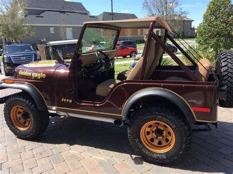jeep eagle for sale 1977 jeep cj5 golden eagle v8 for sale