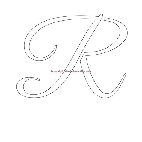 printable calligraphy number stencils graceful calligraphy alphabet stencils