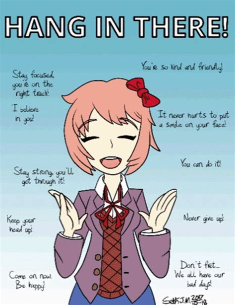Doki Doki Literature Club Memes - get out of my head literature anime and otaku