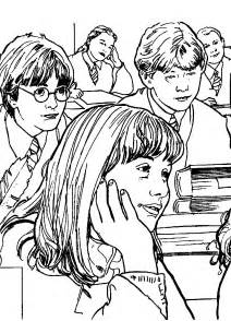 Kids N Funcom  Coloring Page Harry Potter And The Chamber Of Secrets sketch template