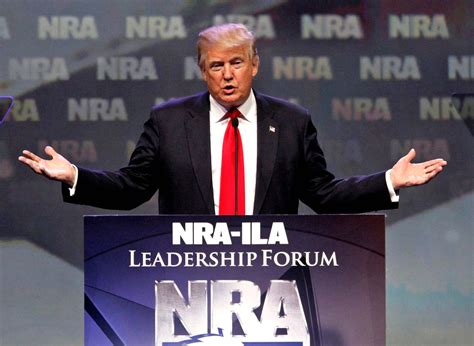 where does trump live live donald trump speech at nra ila leadership forum 2017