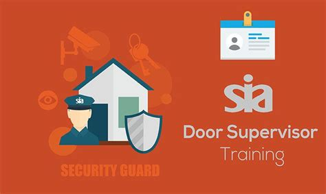 Sia Door Supervisor Course by Global Edulink Service Provider In Stepney