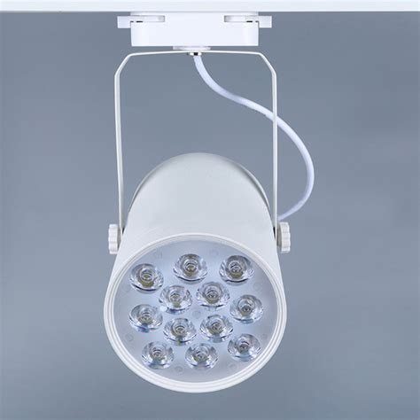 12w white led track light spotlight wall kitchen hotel