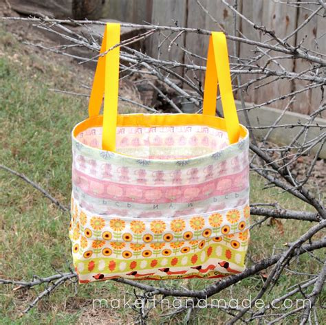 Handmade Treat Bags - make it handmade the tot bag a closable free