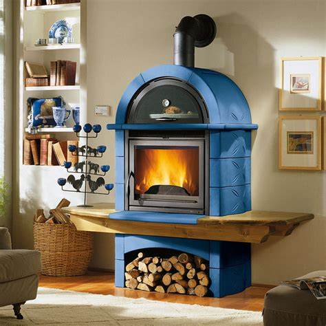 Nordic Kitchens by La Nordica Wood Burning Stoves