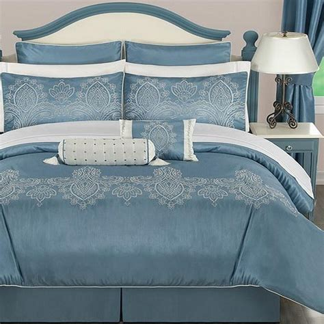 24 piece bedding set jessica sanders geneva queen 24 piece comforter bed in a bag set