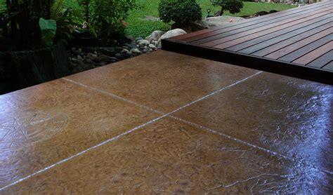 slate patio cost sted concrete patio cost designs concrete craft