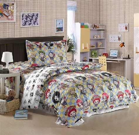 character comforter sets one piece character anime bedding set for twin comforter